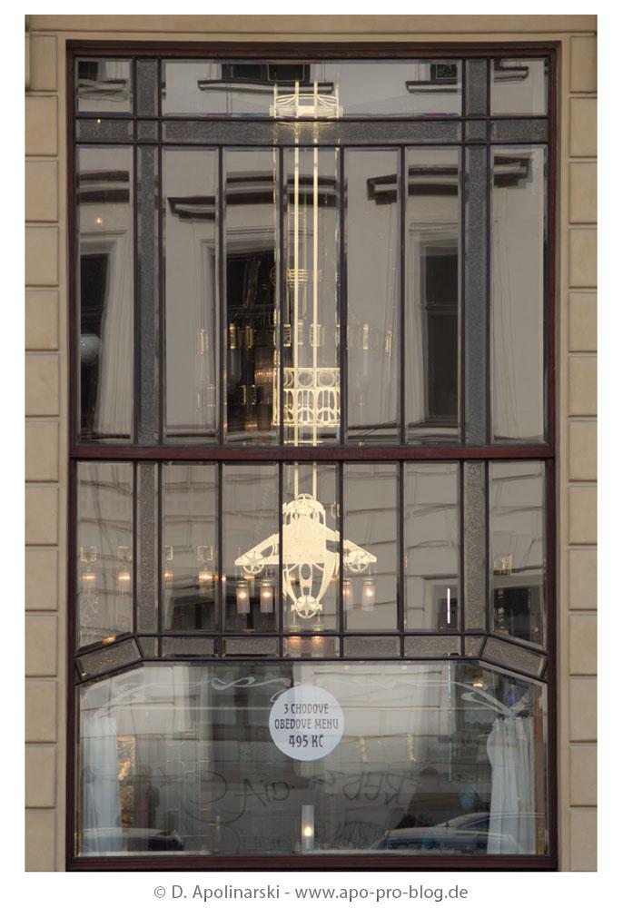 Prag, Art Deco Fenster