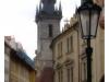 Prag: Mit Blick auf die Teynkirche