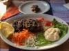 Gegrillte Sardinen im Strandrestaurant Maestro