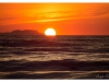 Korfu, Sonnenuntergang in Acharávi