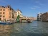 Blick in den Canale Grande hinein. Venedig, 2018