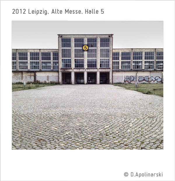 Messehalle 5, Leipzig - 2012