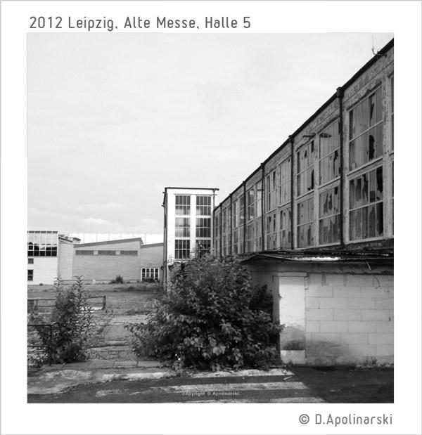 Messehalle 5 Turm, Leipzig - 2012