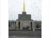 Leipzig Sowjetischer Pavillon Regen